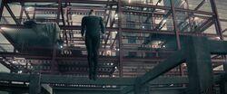 Zod taking flight