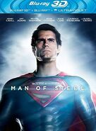 Man of Steel - Home Media - BluRay 3D