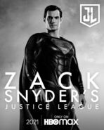 Superman Snyder Cut Character Poster