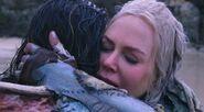 Atlanna hugs Arthur