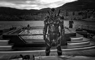 Snyder Cut - Deathstroke-Justice-League-Black-White