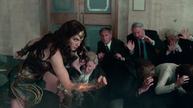 Wonder Woman saves the day