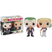 Funko - Suicide Squad - Joker and Harley combo