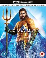 Aquaman DVD - 4K Ultra HD