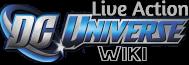 Live Action DC Universe logo