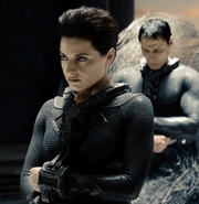Faora being sentenced to the Phantom Zone
