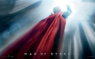 Man of Steel Back Poster