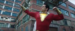 Shazam shows off muscle