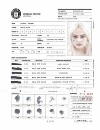 Harley Quinn CIA criminal record