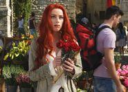 Mera eats roses