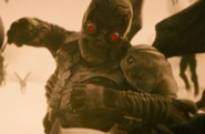 A Parademon during Bruce's Knightmare