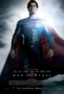 Man of Steel - Superman character poster