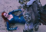 Mera being saved by Atlanna