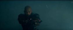 Deadshot getting ready to kill Enchantress