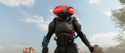 Black Manta appears in Sicily