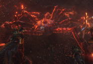Crab artillery