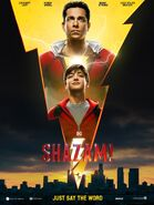 Shazam! Official Poster