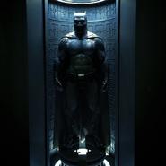 Full shot of the Batsuit