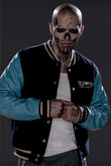 Suicide Squad character portrait - El Diablo