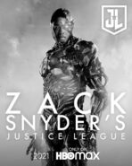 Cyborg Snyder Cut Character Poster