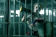 Birds of Prey - Harley in jail cell