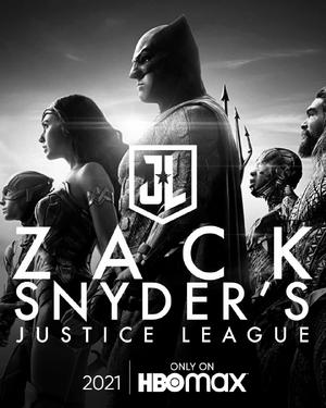 Zack Snyder's Justice League teaser poster
