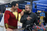 Shazam! behind the scenes - store