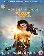 Wonder Woman - Home Media - BluRay 3D