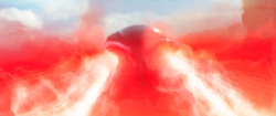 Black Manta firing optical blasts