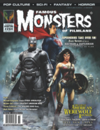 Famous Monsters of Filmland - Batman v Superman Dawn of Justice cover