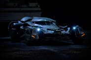Batmobile with headlights