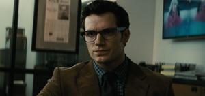 Clark tells Perry about Batman