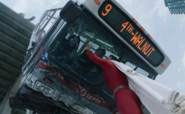 Shazam saving the bus