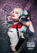 Suicide Squad - Poster - Harley Quinn