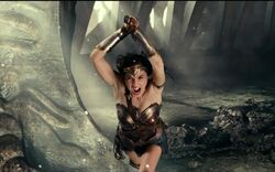 Wonder Woman vs Steppenwolf