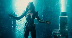 Mera about to use abilities