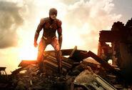 SZJL-BTS - Ezra Miller-Flash on set