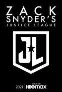 Zack Snyder's Justice League text poster