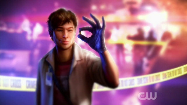 File:Barry Allen at a crime scene - concept art.png