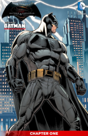 Batman v Superman Dawn of Justice – Batman cover