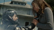 Faora lifts martha