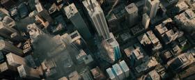 Fortress of Solitude crashing in Metropolis