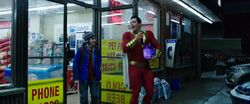 Shazam! and beer