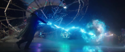 Sivana Attacking Shazam