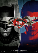 Batman v Superman Dawn of Justice - Batman-Superman poster