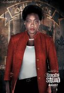 Suicide Squad - Poster - Amanda Waller
