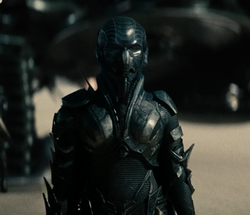 Faora in battle armor