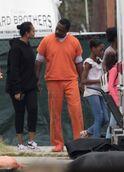The Suicide Squad BTS - Idris Elba (2)