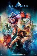 Aquaman (film) Poster HD Textless