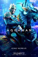Aquaman - King Nereus character poster